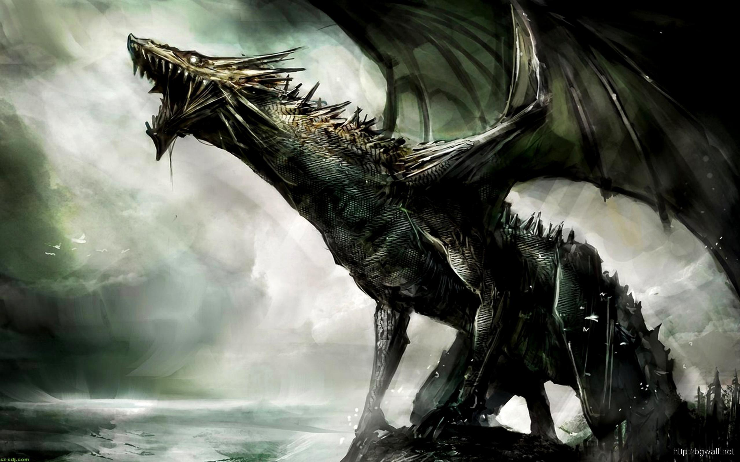 best fantasy cartoon dragon wallpaper widescreen – background