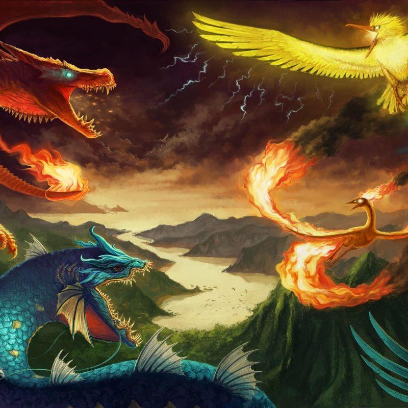 10 Best Legendary Birds Pokemon Wallpaper FULL HD 1920×1080 For PC Background 2018 free