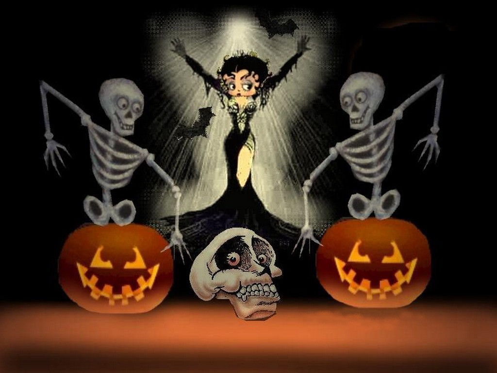 betty boop halloween wallpaper - wallpapersafari