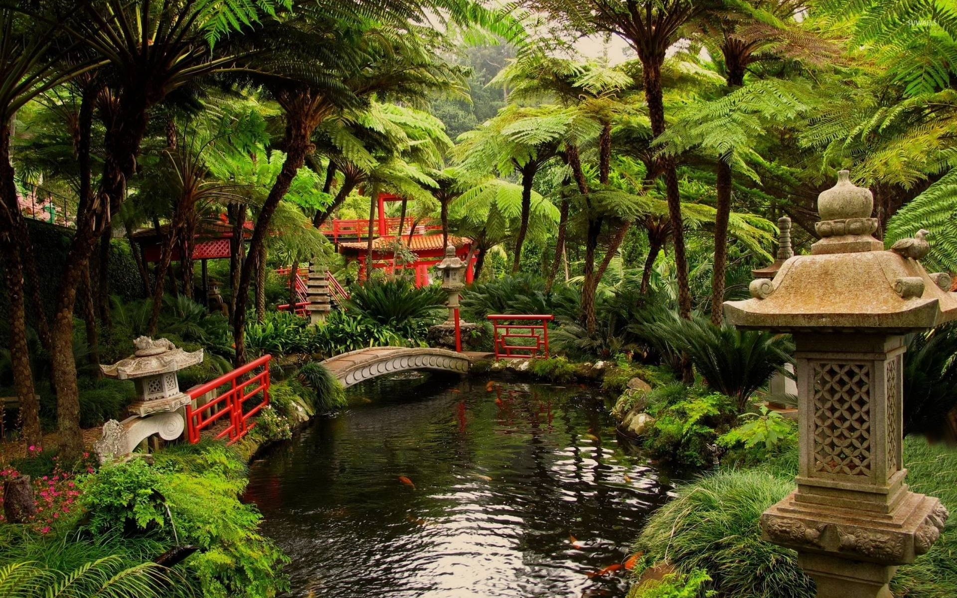 10 Best Japanese Garden Wallpaper 1920X1080 FULL HD 1080p For PC ...