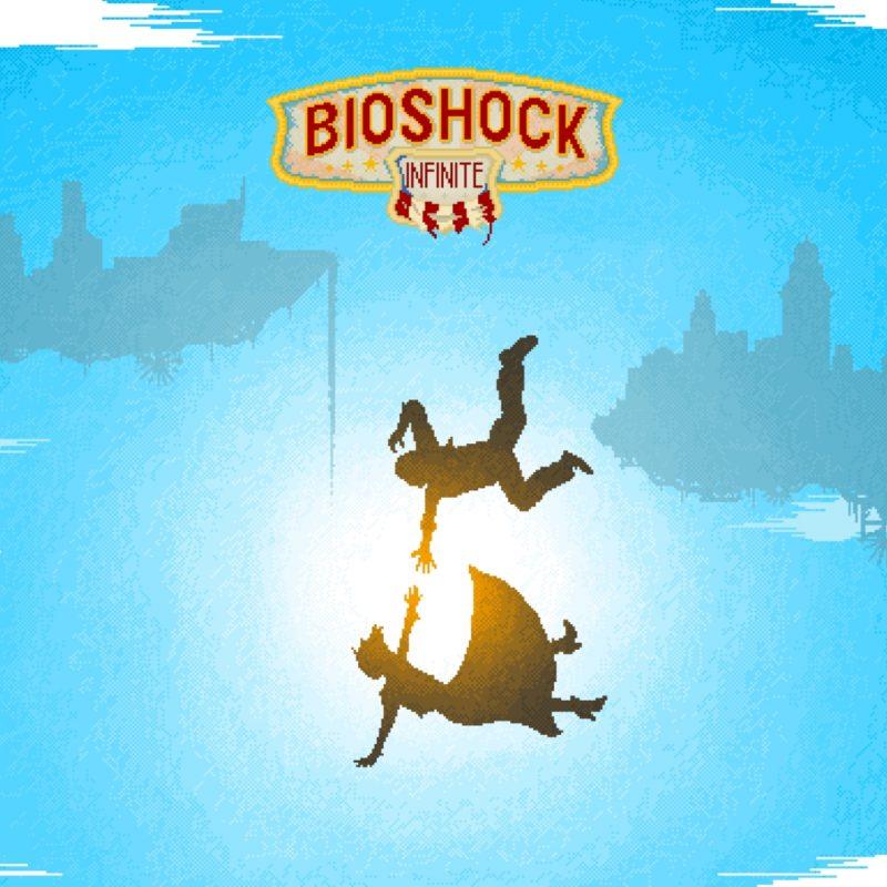 10 Latest Bioshock Infinite Wallpaper Falling FULL HD 1920×1080 For PC Background 2021 free download bioshock infinite pixelart wallpaper imgur 800x800