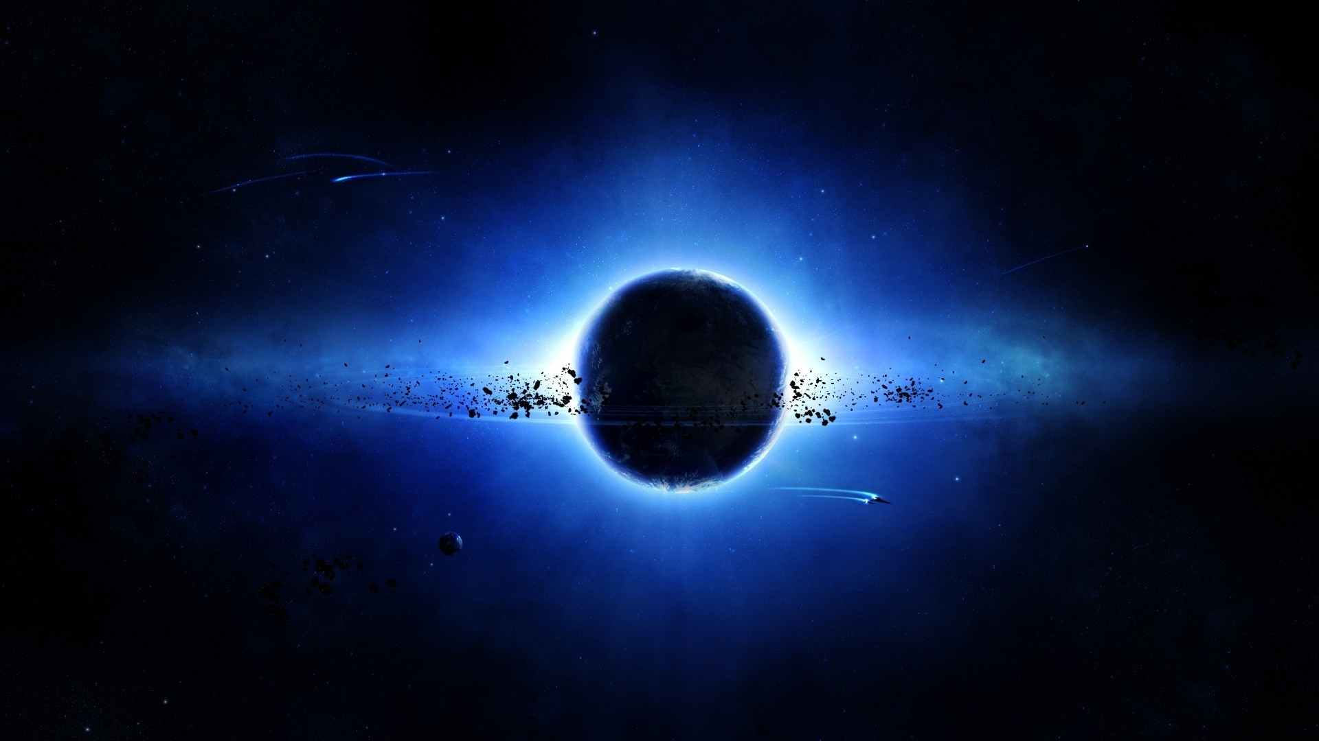 10 Top Black And Blue Space Full Hd 1080p For Pc Background 2019