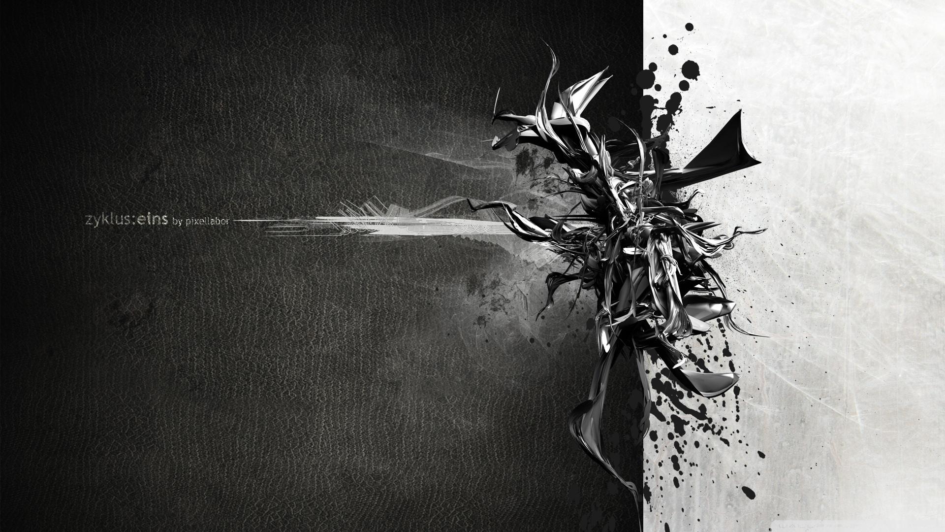 black and white art ❤ 4k hd desktop wallpaper for 4k ultra hd tv