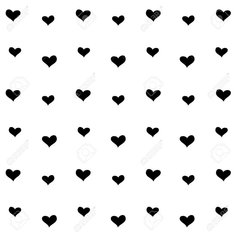 10 Best Black And White Hearts Background FULL HD 1080p For PC Background 2020 free download black and white heart pattern background royalty free cliparts 1 800x800