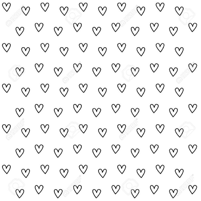 10 Best Black And White Hearts Background FULL HD 1080p For PC Background 2020 free download black and white heart pattern background royalty free cliparts 800x800