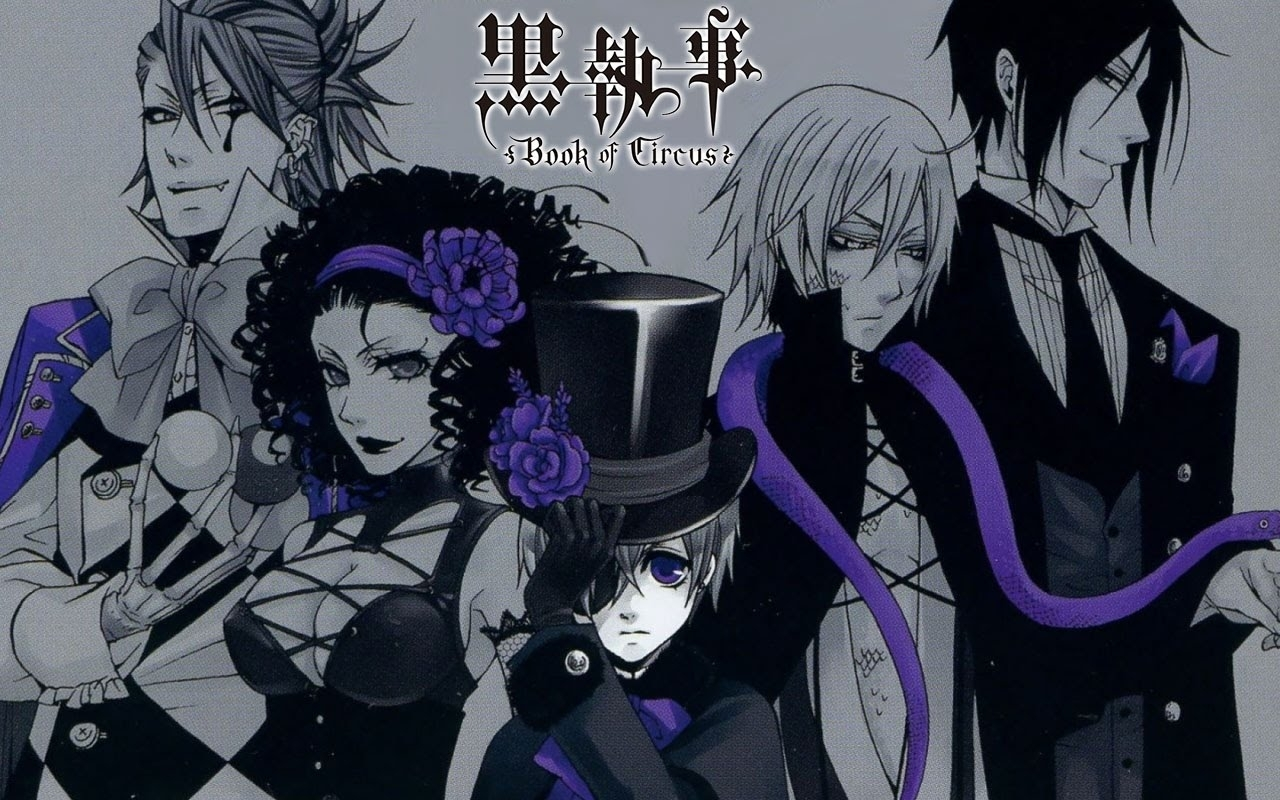 black butler: book of circus (2014-)