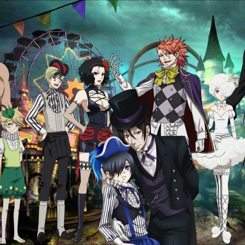 10 Most Popular Black Butler Book Of Circus Wallpaper FULL HD 1080p For PC Background 2018 free download black butler book of circus covercoolkat122 on deviantart 800x800