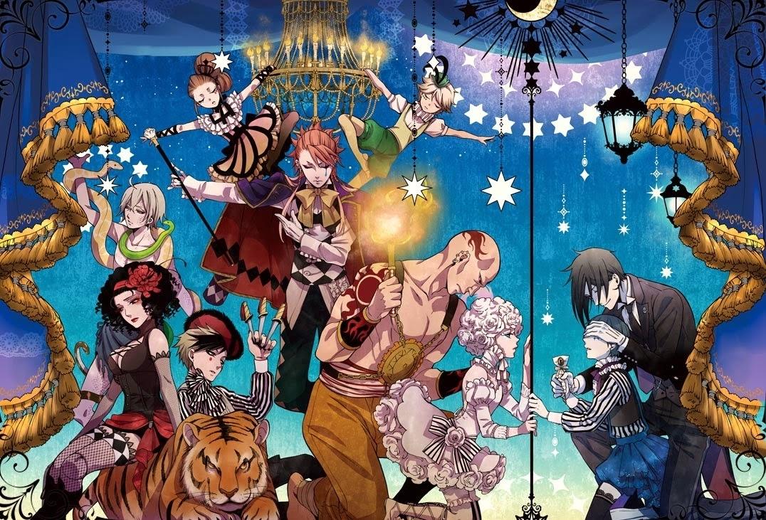 black butler book of circus wallpaper - google search | anime