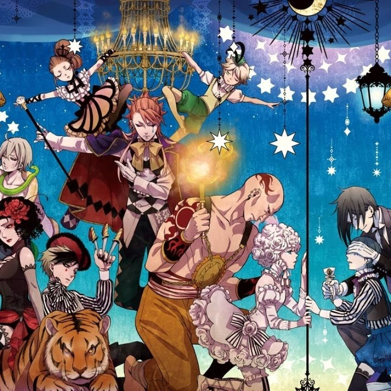 10 Most Popular Black Butler Book Of Circus Wallpaper FULL HD 1080p For PC Background 2018 free download black butler book of circus wallpaper google search anime 800x800
