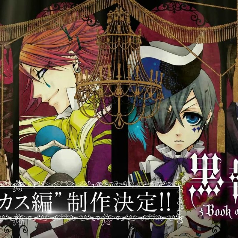 10 Most Popular Black Butler Book Of Circus Wallpaper FULL HD 1080p For PC Background 2018 free download black butler book of circus wallpapers wallpaper cave 800x800