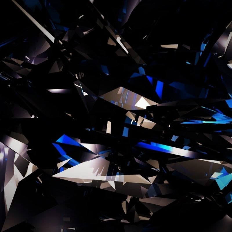 10 Best Black And Blue Shards Wallpaper FULL HD 1080p For PC Background 2020 free download black dark abstract 3d shards glass blue bright wallpapers hd 1 800x800