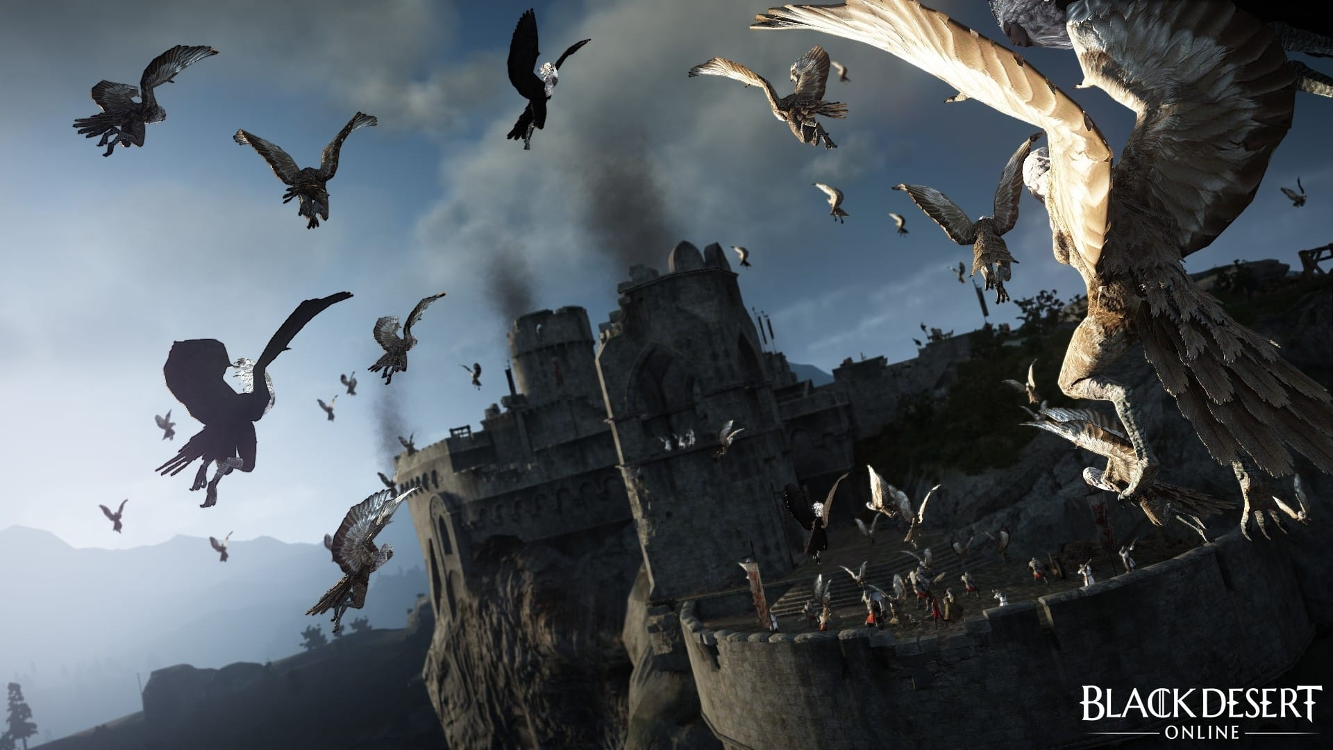 black desert online accueille l'extension kamasylvia - zone actu gaming