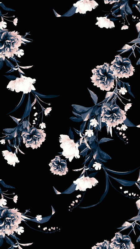 10 Best Black Flower Wallpaper FULL HD 1080p For PC Background 2020 free download black floral phone backgrounds screen wallpaper tumblr 450x800