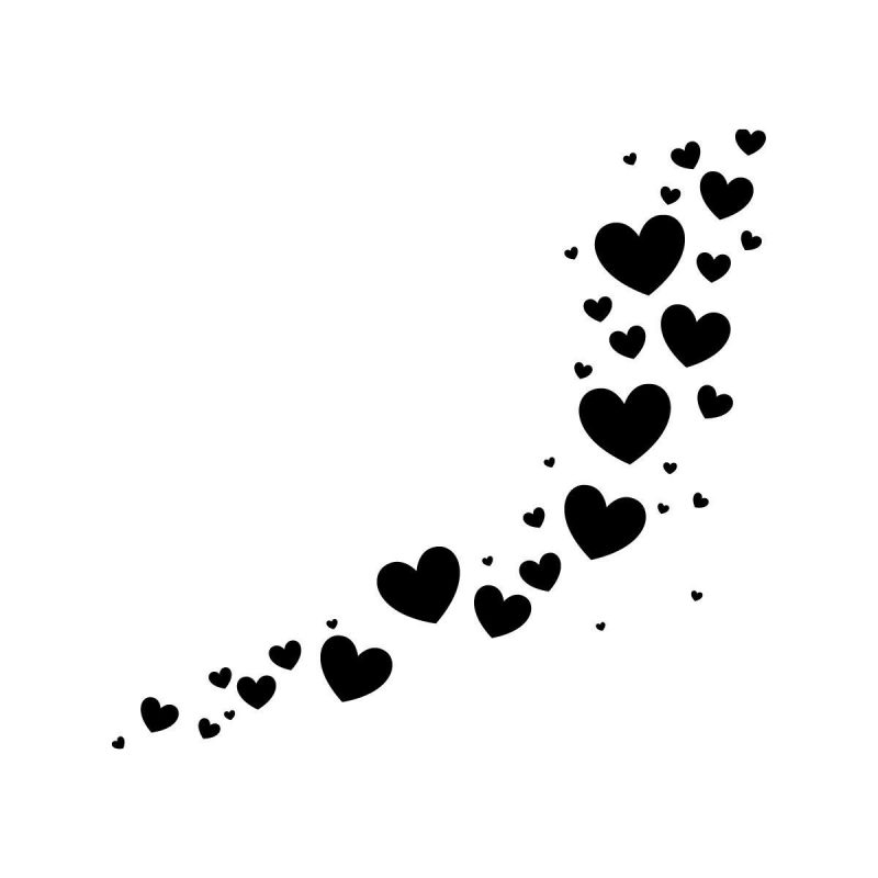 10 Best Black And White Hearts Background FULL HD 1080p For PC Background 2020 free download black heart white background pic images photos pictures 1 800x800