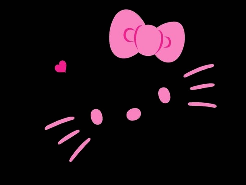 black hello kitty wallpaperlillysim on deviantart