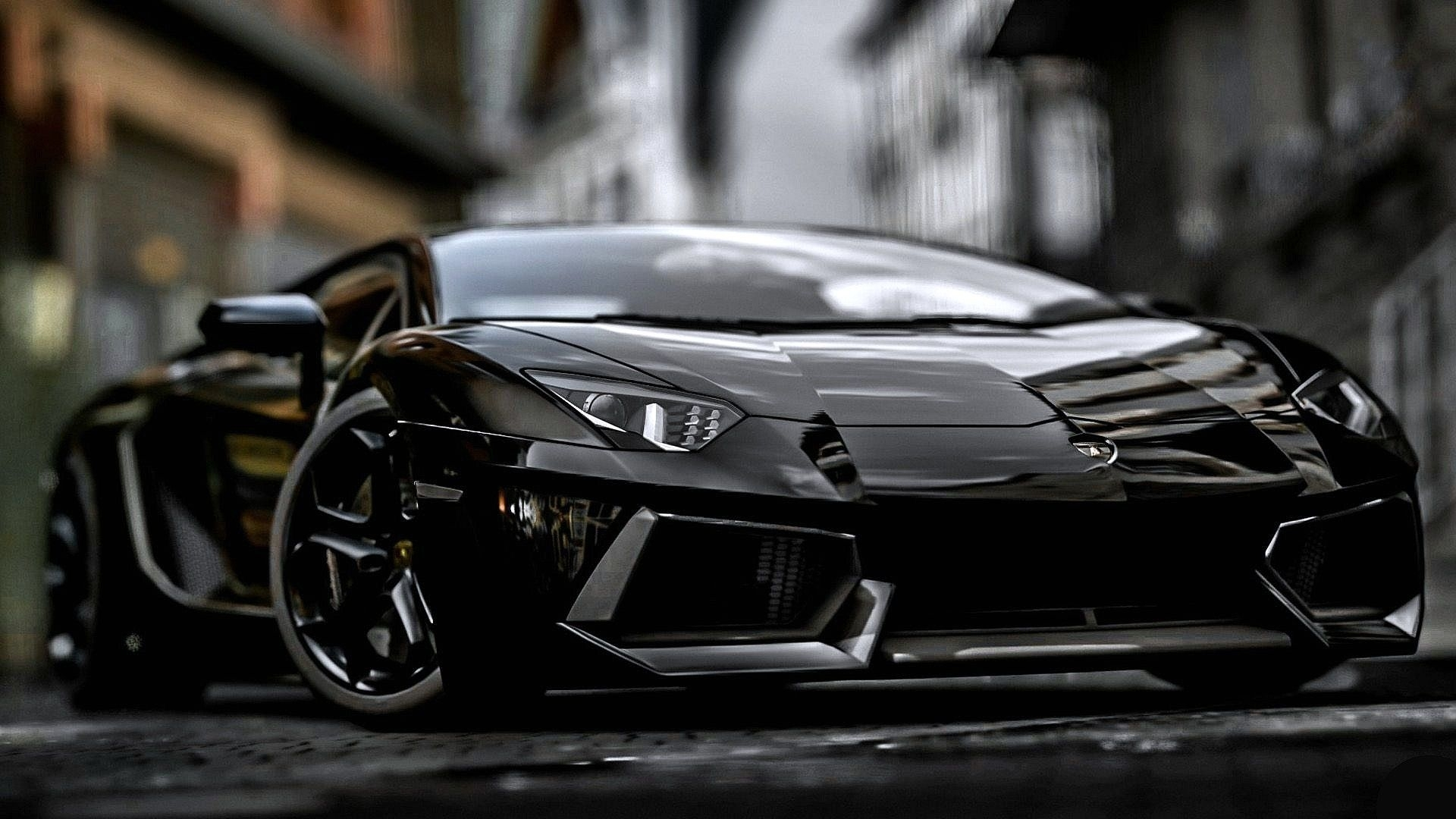 black lamborghini aventador wallpaper hd 1080p www.packair