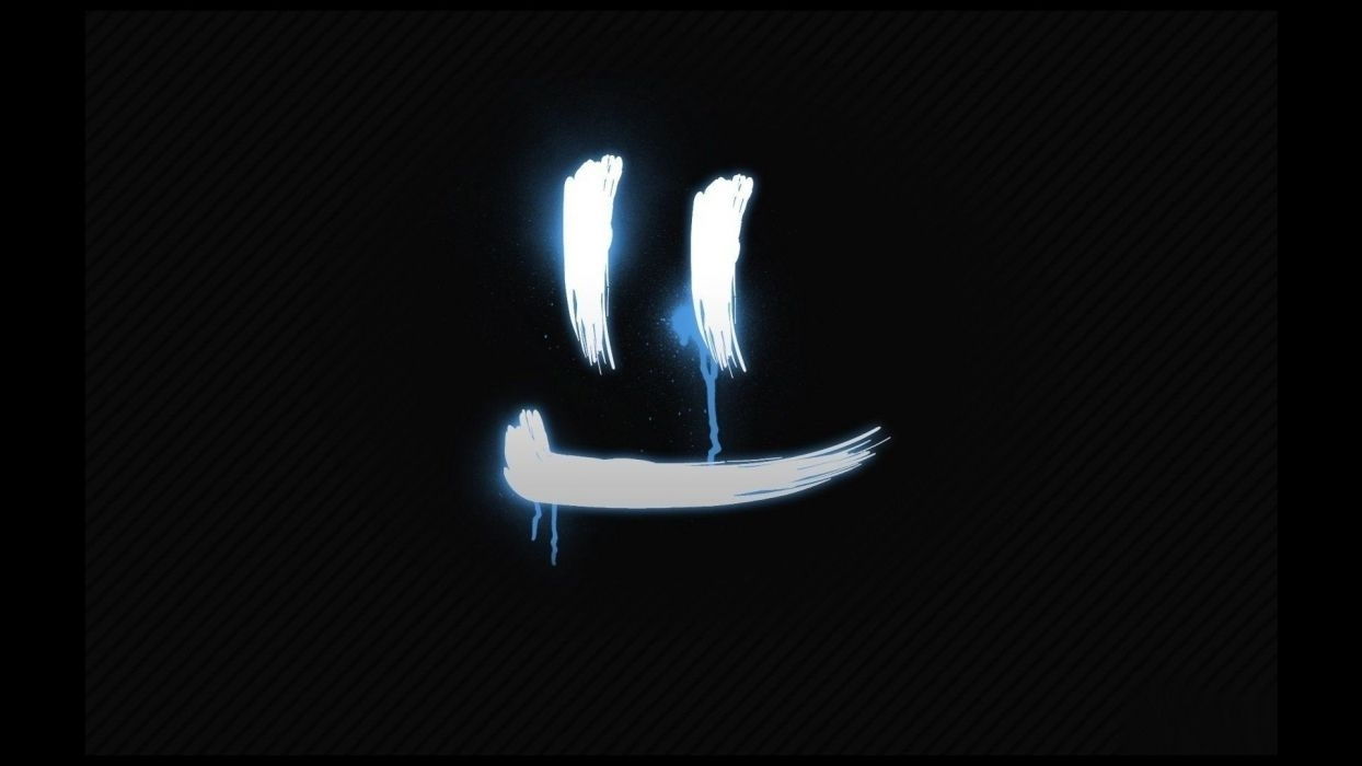 black minimalistic white happy smiley smiley face smiling katakana