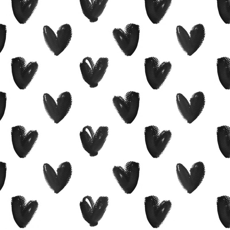 10 Best Black And White Hearts Background FULL HD 1080p For PC Background 2020 free download black white watercolour hearts iphone background wallpaper phone 1 800x800