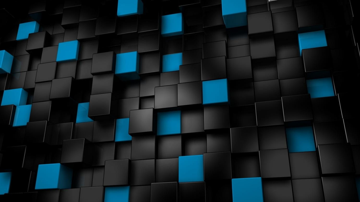blue 3d cubes wallpaper for android - android live wallpaper