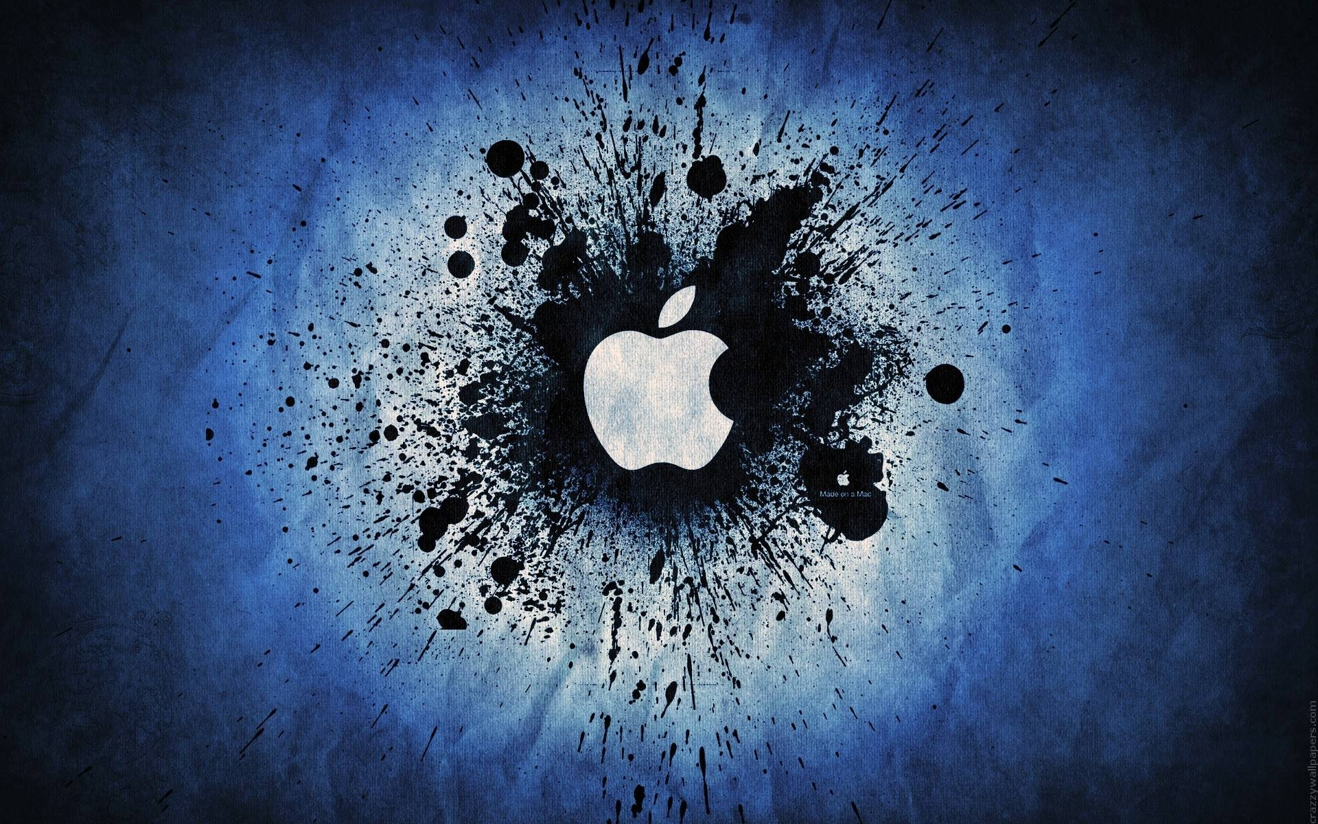 blue apple logo wallpaper, | cool mac wallpaper! | pinterest | apple