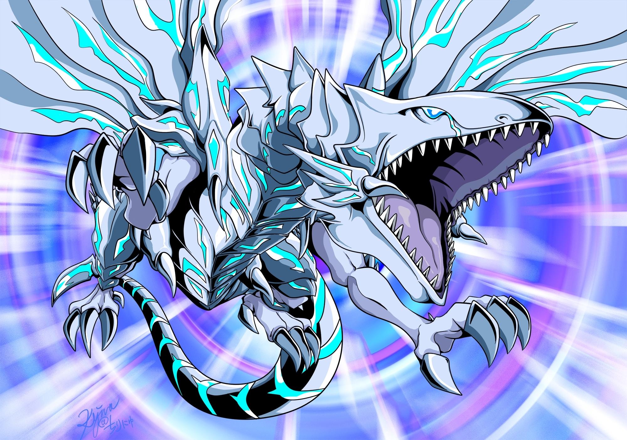 blue-eyes alternative white dragon - yu-gi-oh! the dark side of