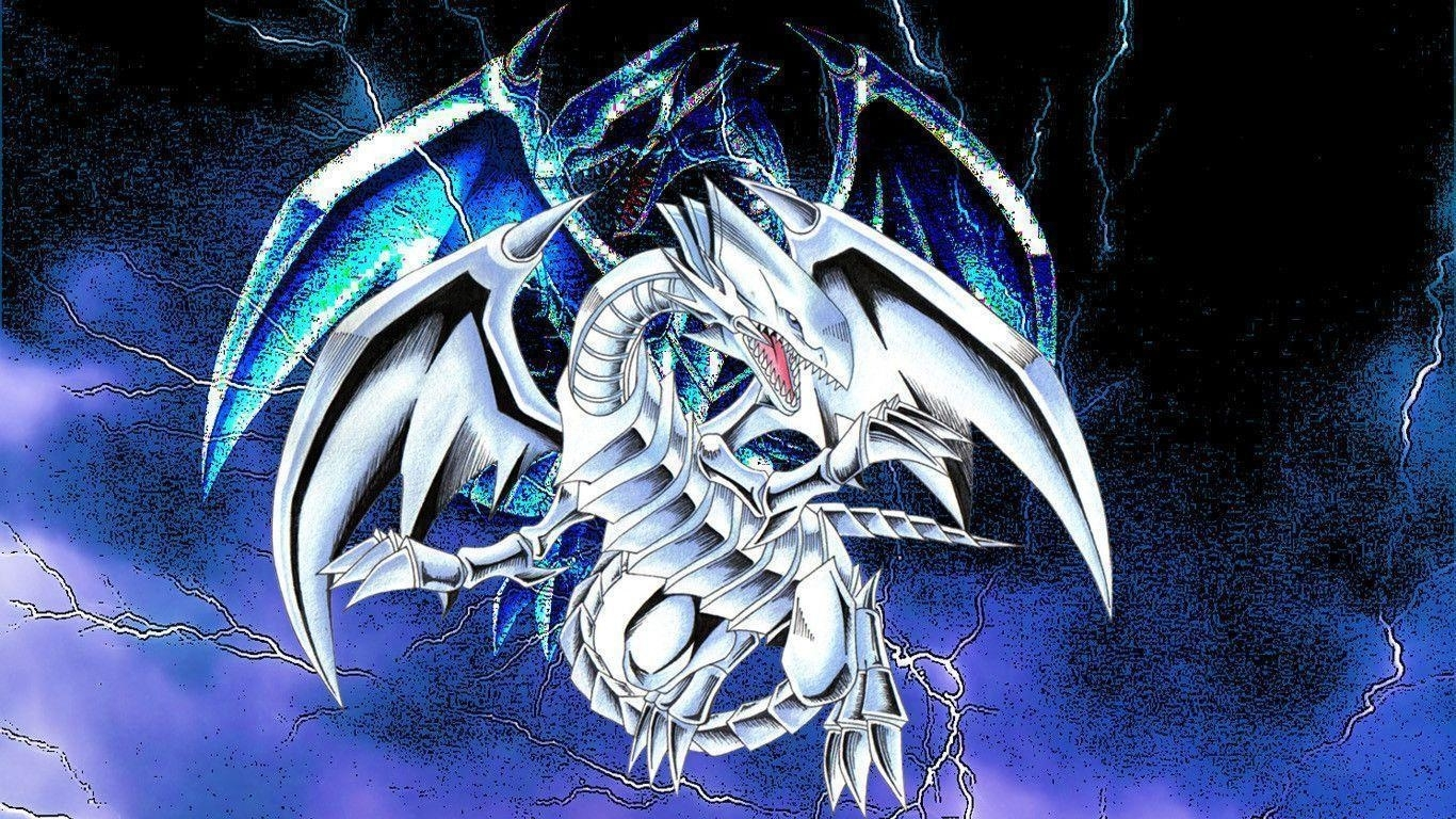 blue eyes white dragon wallpapers - wallpaper cave