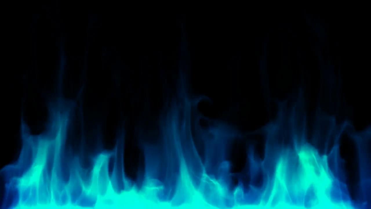 blue fire burning motion background - videoblocks