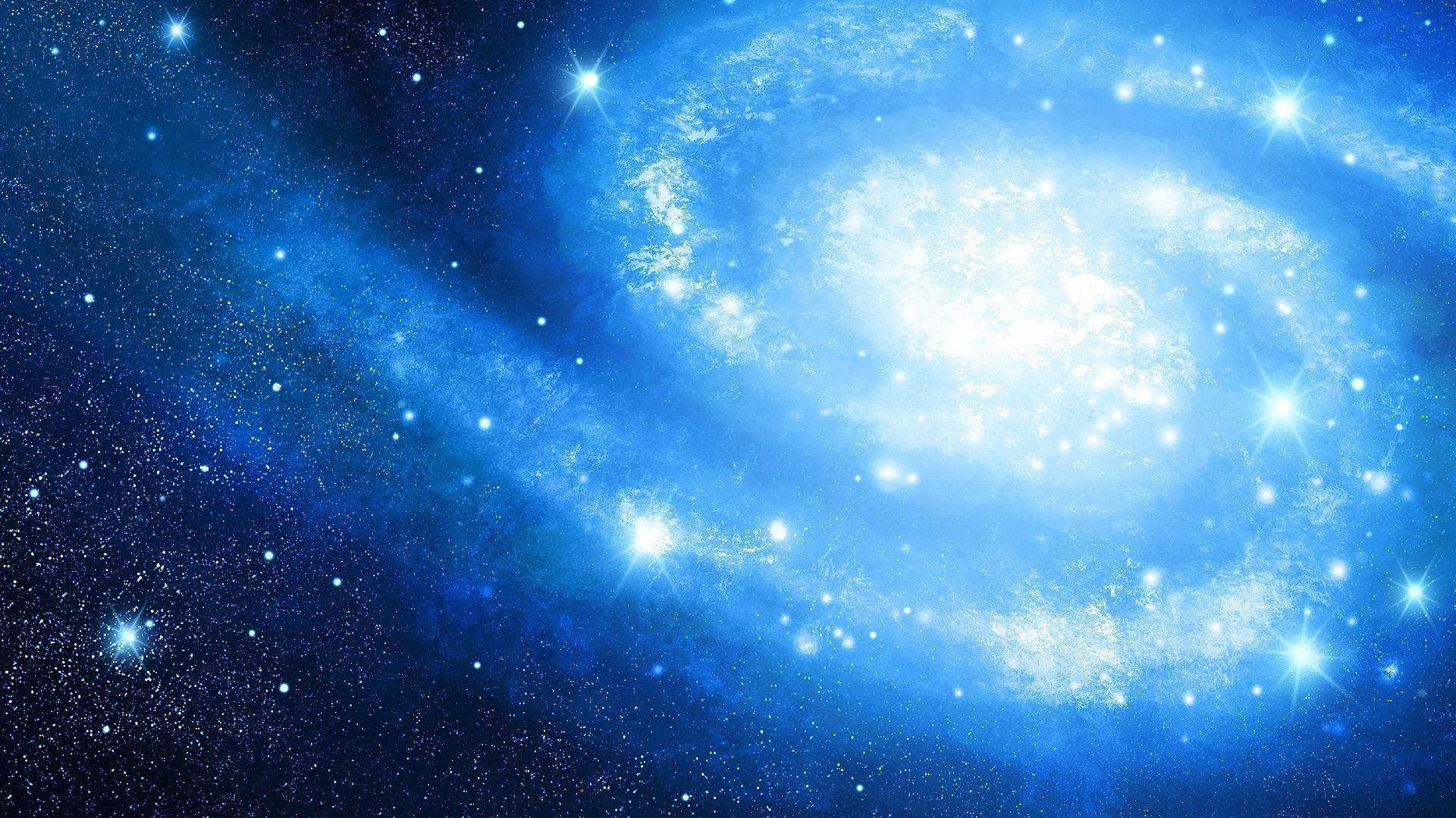 10 Latest Blue Galaxy Wallpaper 1920x1080 Full Hd 1920 1080 For Pc