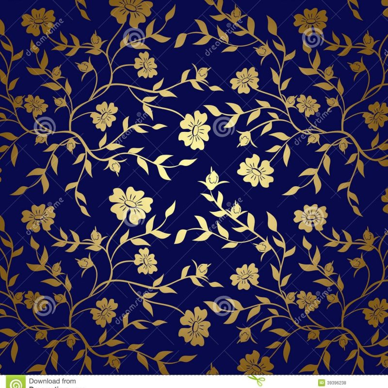 10 Most Popular Blue And Gold Backgrounds FULL HD 1920×1080 For PC Background 2020 free download blue gold floral texture background vector stock vector 800x800