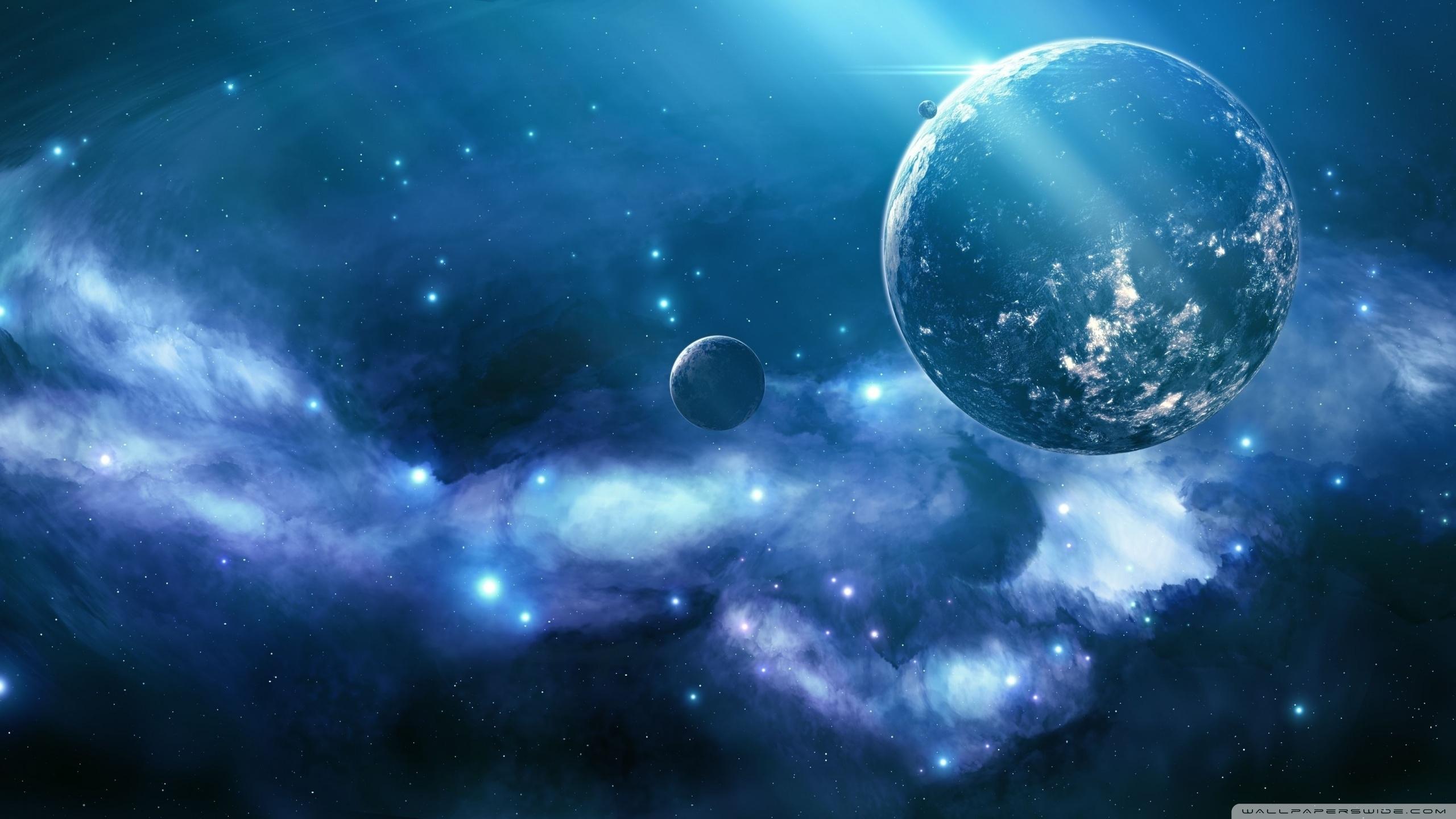 blue nebula ❤ 4k hd desktop wallpaper for 4k ultra hd tv • dual