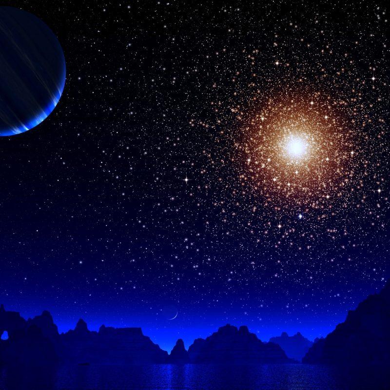 10 New Stars And Moon Wallpaper FULL HD 1920×1080 For PC Desktop 2021 free download blue night moon stars earth 4k hd digital universe 4k wallpapers 800x800