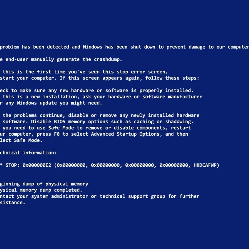 10 New Blue Screen Of Death Desktop Background FULL HD 1080p For PC Background 2018 free download blue screen of death wallpapers for april fools day hongkiat 800x800