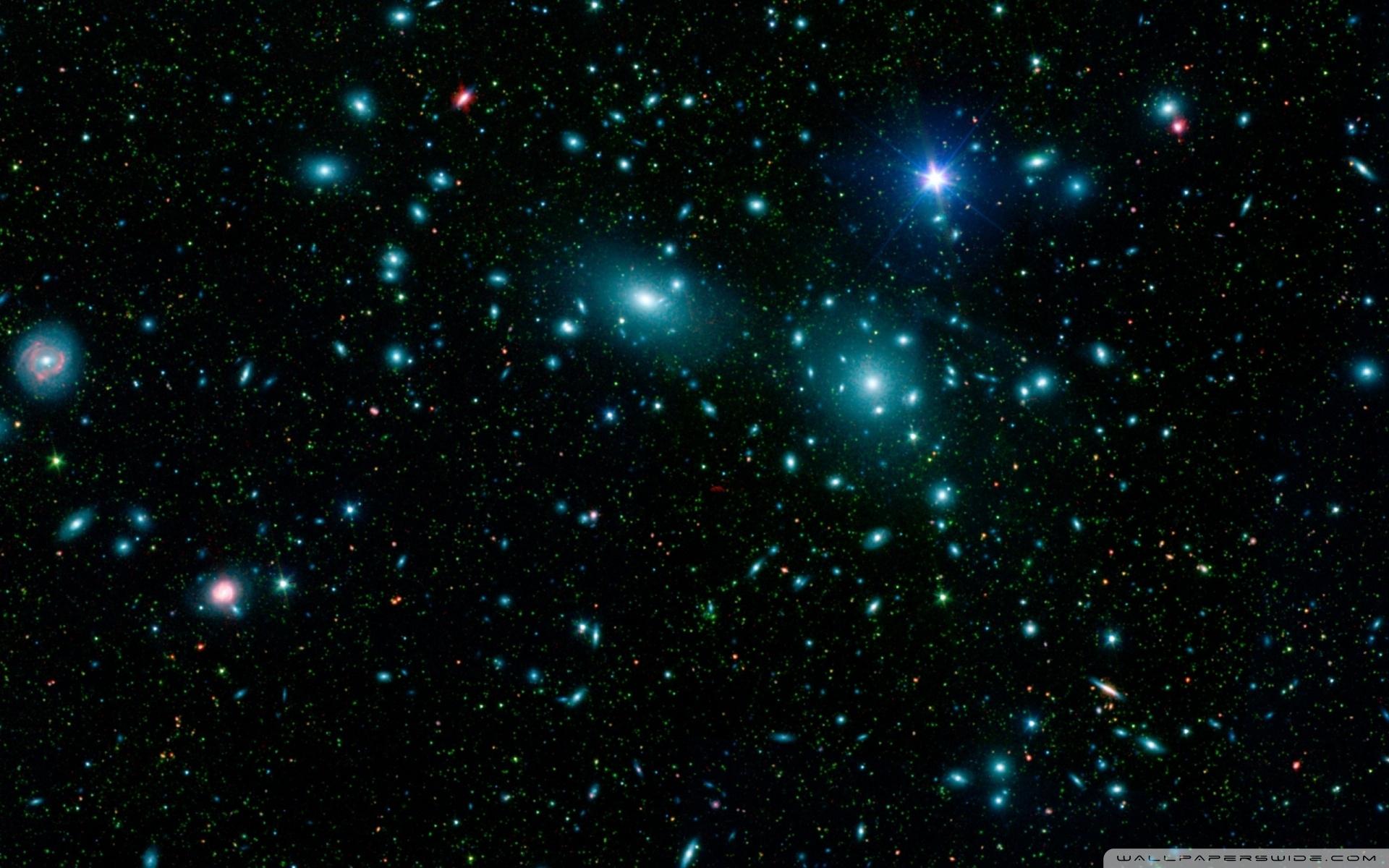 blue stars in space ❤ 4k hd desktop wallpaper for