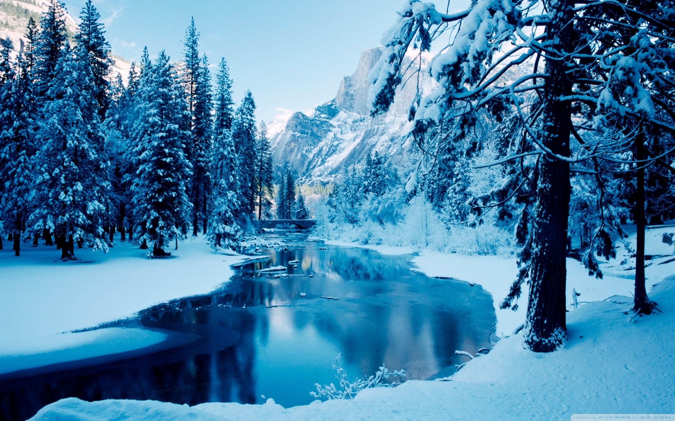 blue winter landscape ❤ 4k hd desktop wallpaper for 4k ultra hd tv