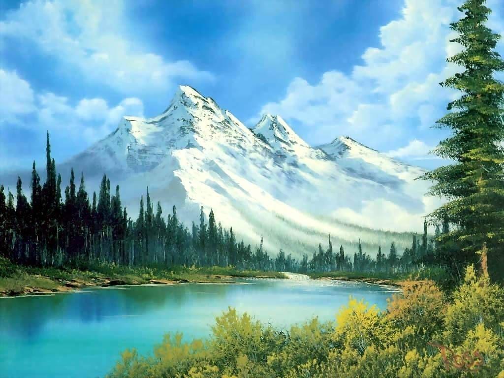 bob ross | bob-ross … | peinture | pinterest | peinture, paysages et
