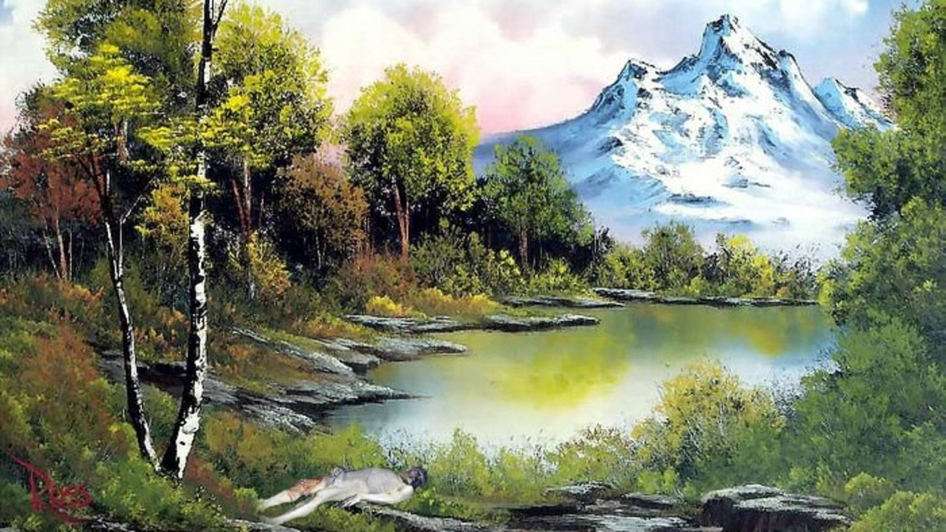 10 Most Popular Bob Ross Painting Wallpaper FULL HD 1080p ...