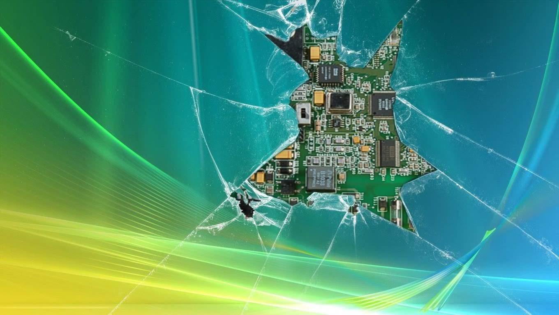 broken screen wallpaper make it look like you screen is broken