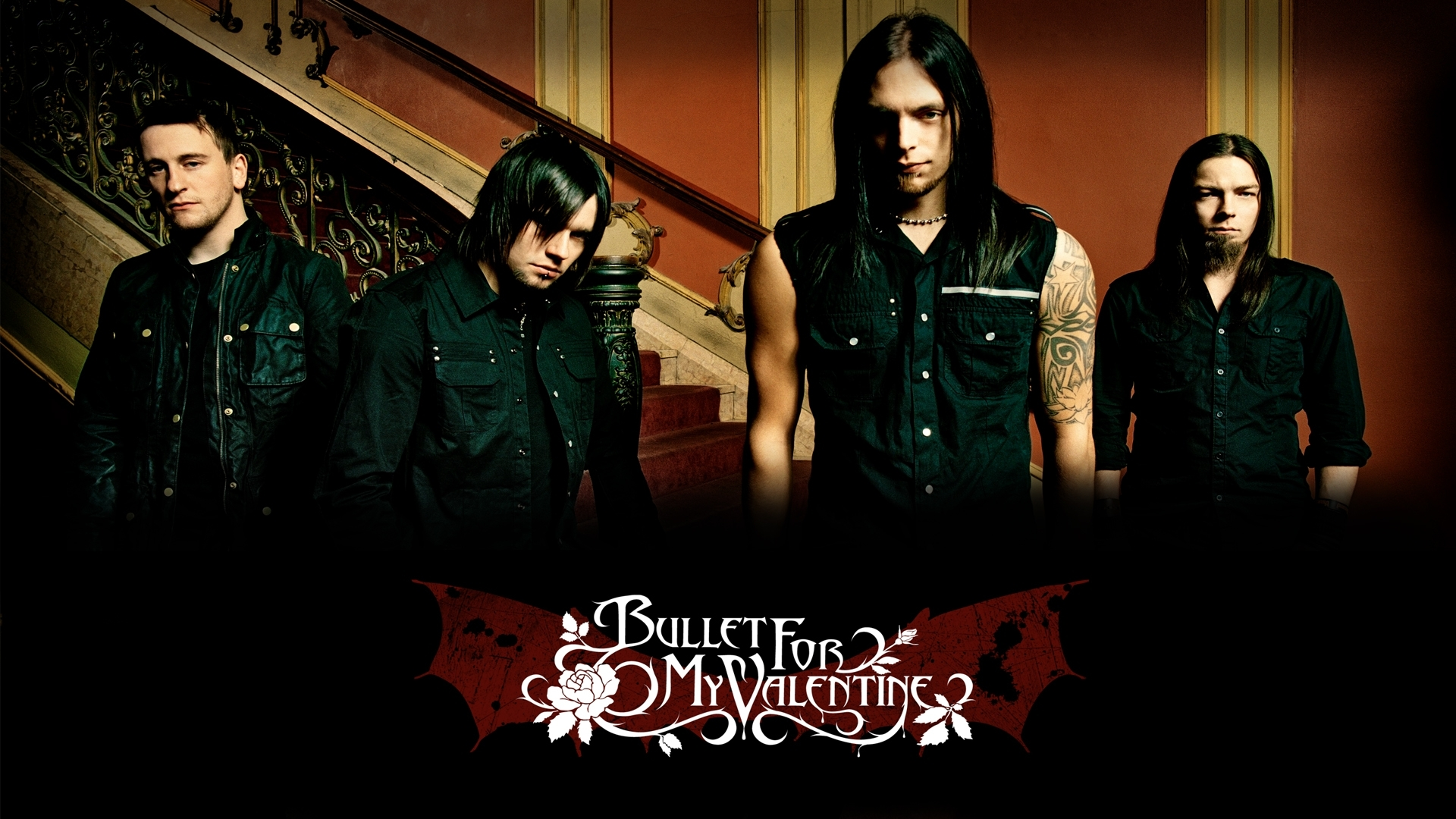 bullet for my valentine full hd wallpaper and background image