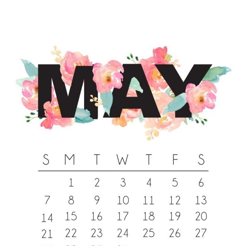10 New May 2017 Calendar Wallpaper FULL HD 1080p For PC Background 2021 free download bydawnnicole wp content uploads 2017 04 may 2017 calendar phone 800x800