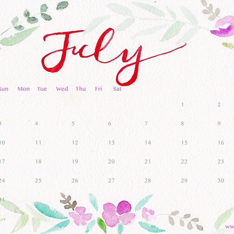 10 Best July 2017 Calendar Wallpaper FULL HD 1920×1080 For PC Desktop 2021 free download calendar 2017 wallpaper 800x800
