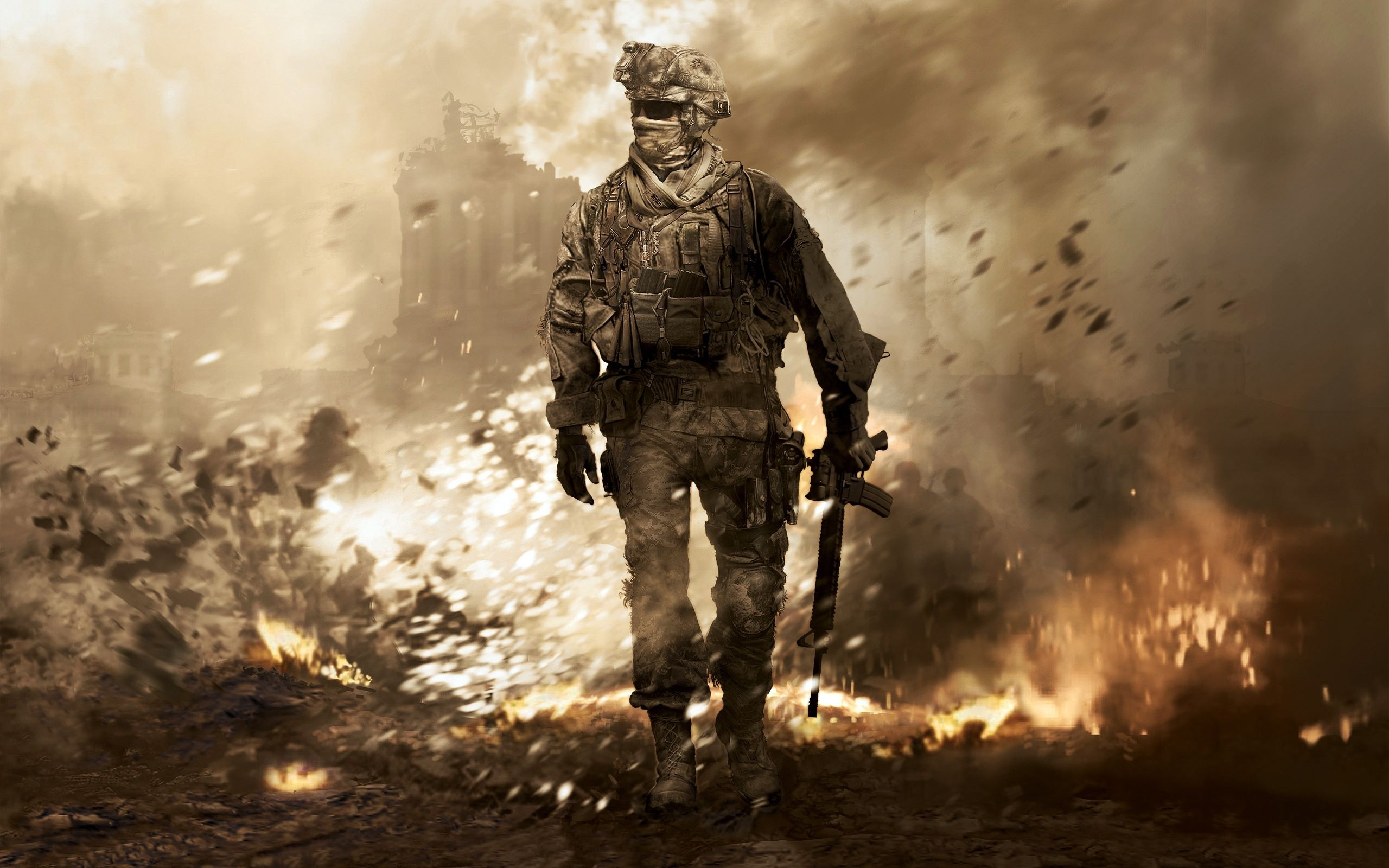 call of duty 4: modern warfare 2560×1600 wallpaper board in | gaming
