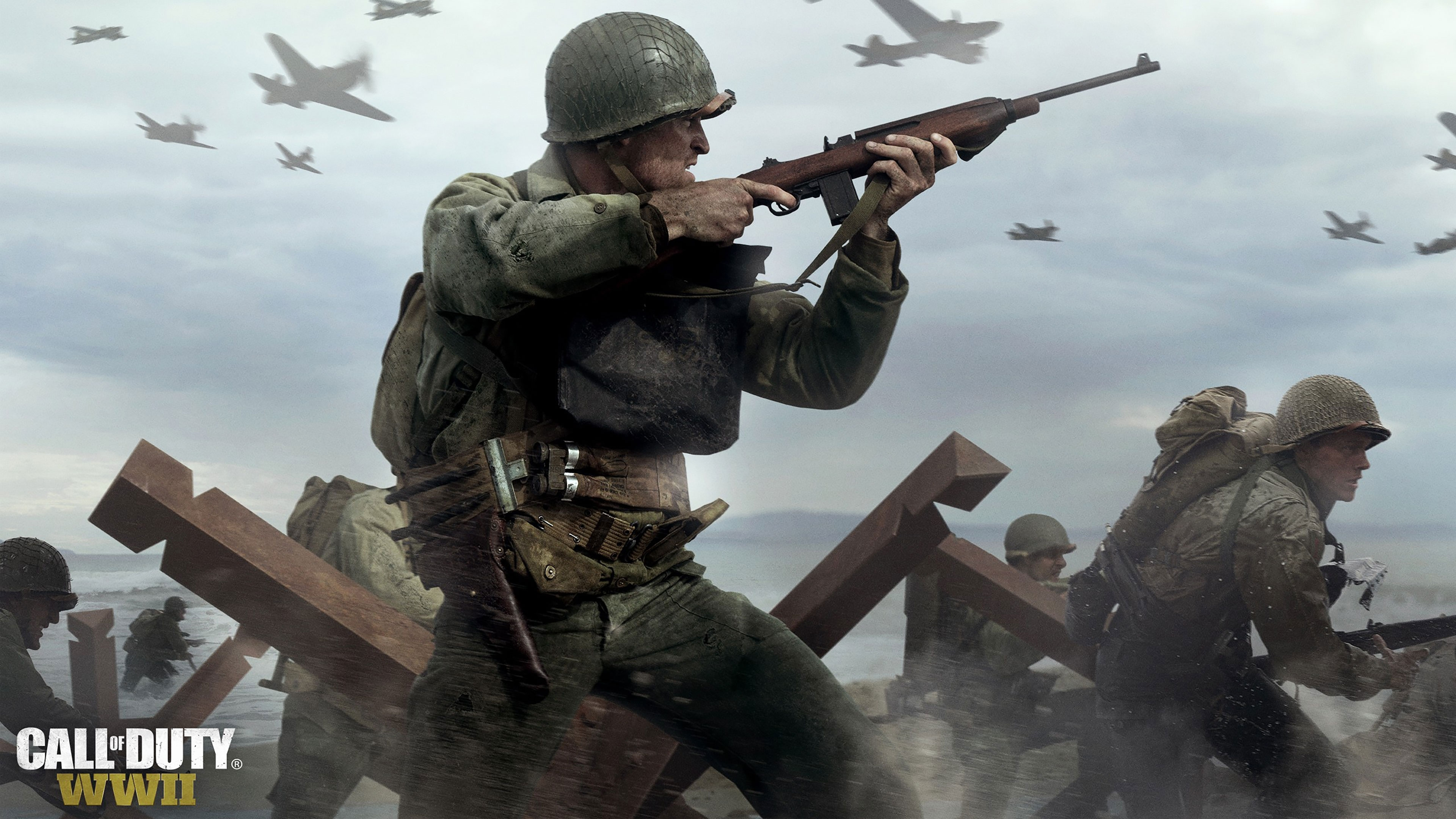 call of duty wwii wallpapers in ultra hd | 4k