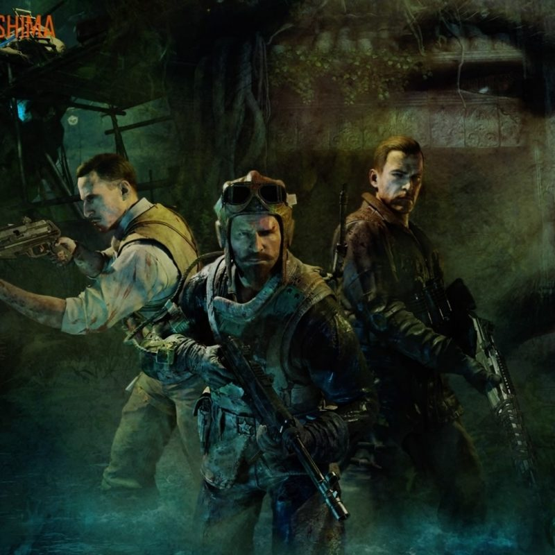 10 New Call Of Duty Black Ops Zombies Wallpaper Full Hd 1920 1080