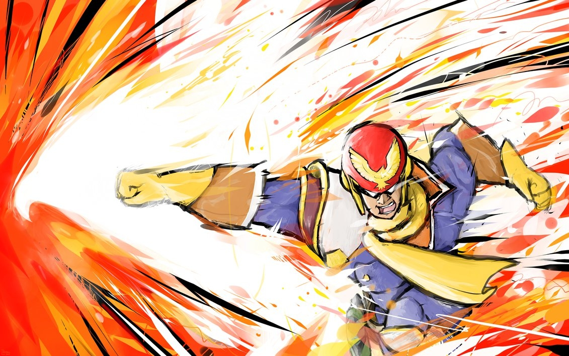 captain falcon | falcon punchishmam on deviantart
