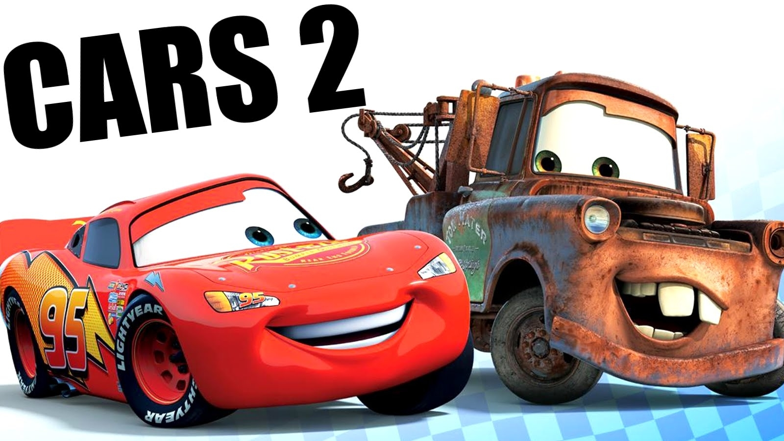 cars 2 movie-game gameplay lightning mcqueen & mater - hd - youtube