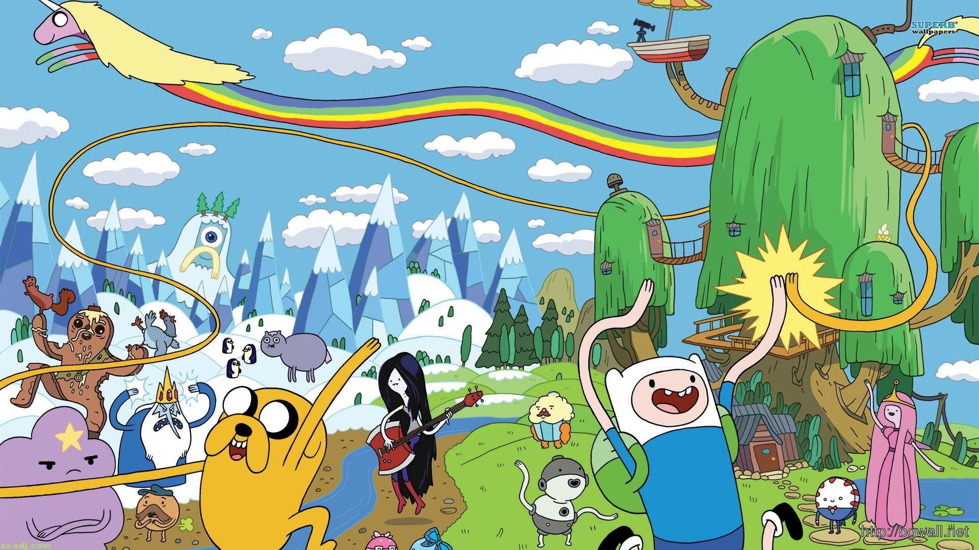 cartoon adventure time wallpaper – background wallpaper hd