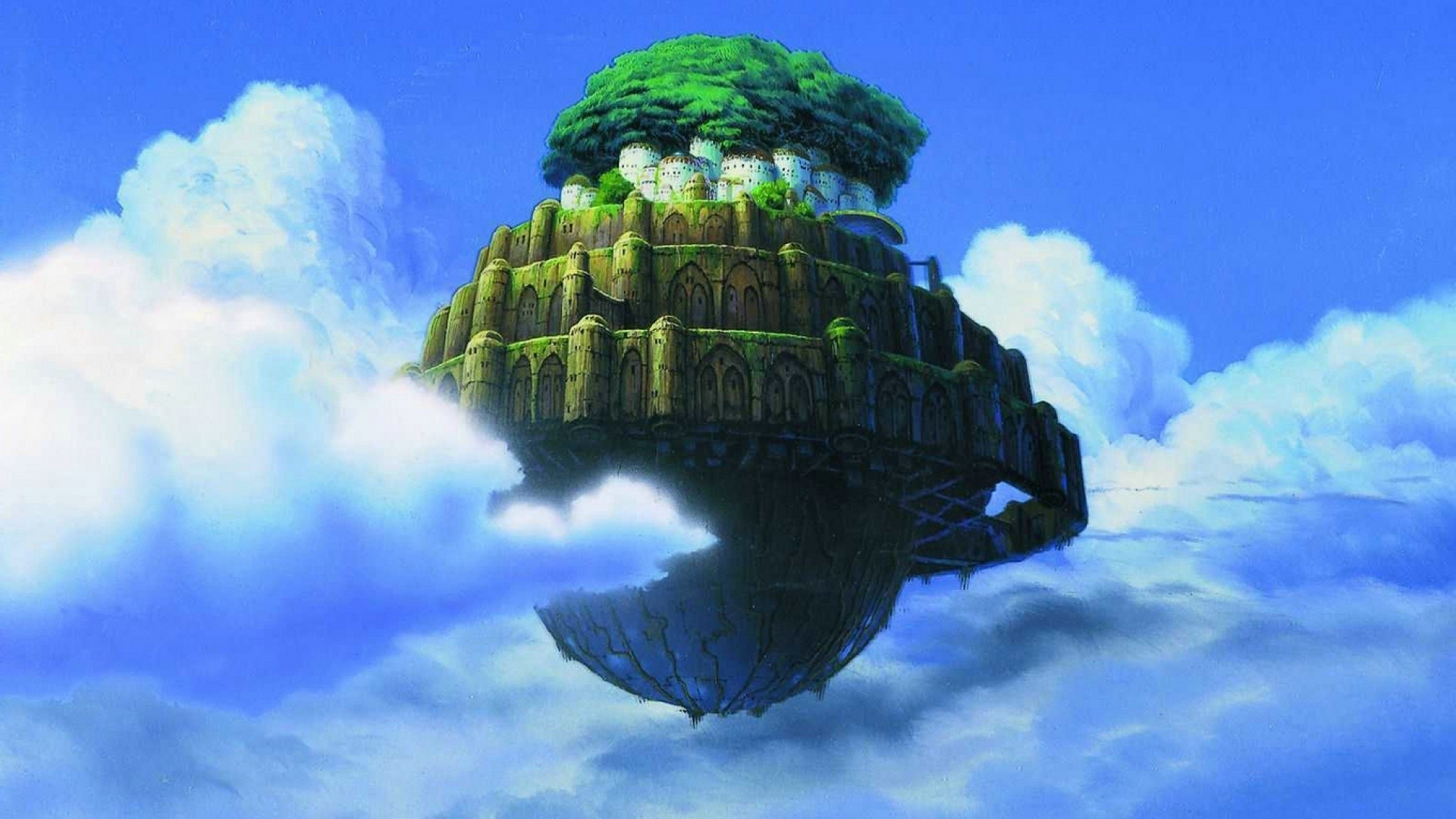 castle in the sky wallpaper (70+ images)