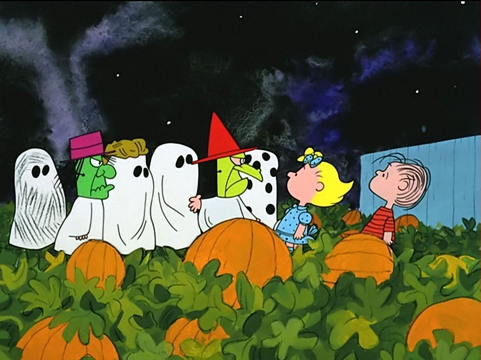 charlie brown halloween wallpapers - wallpaper cave