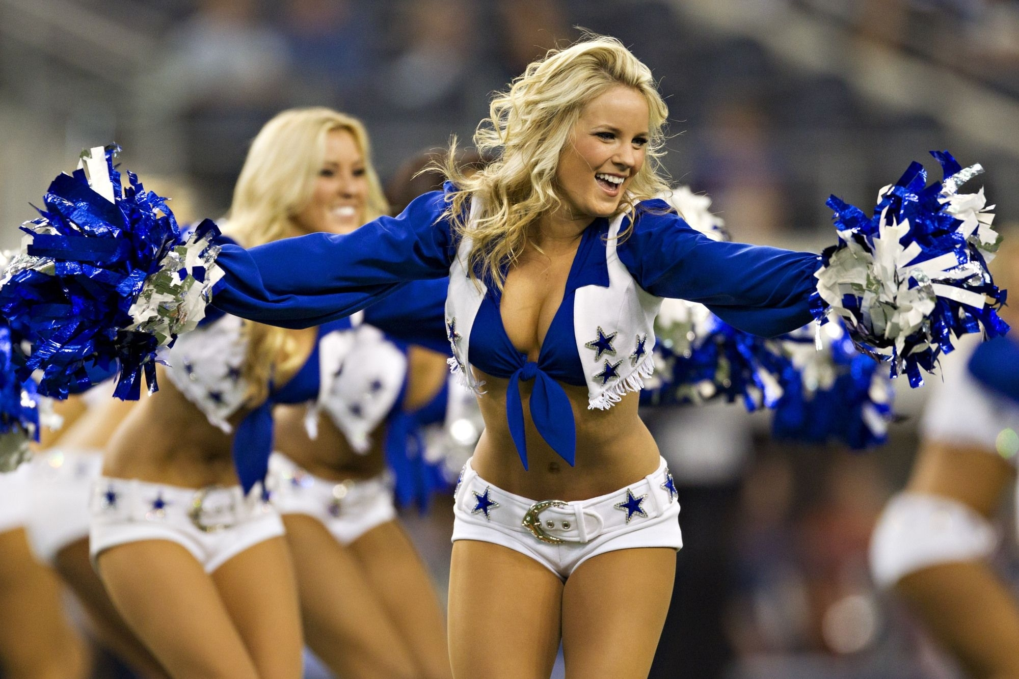cheerleader nfl football dallas cowboys f wallpaper | 2000x1333