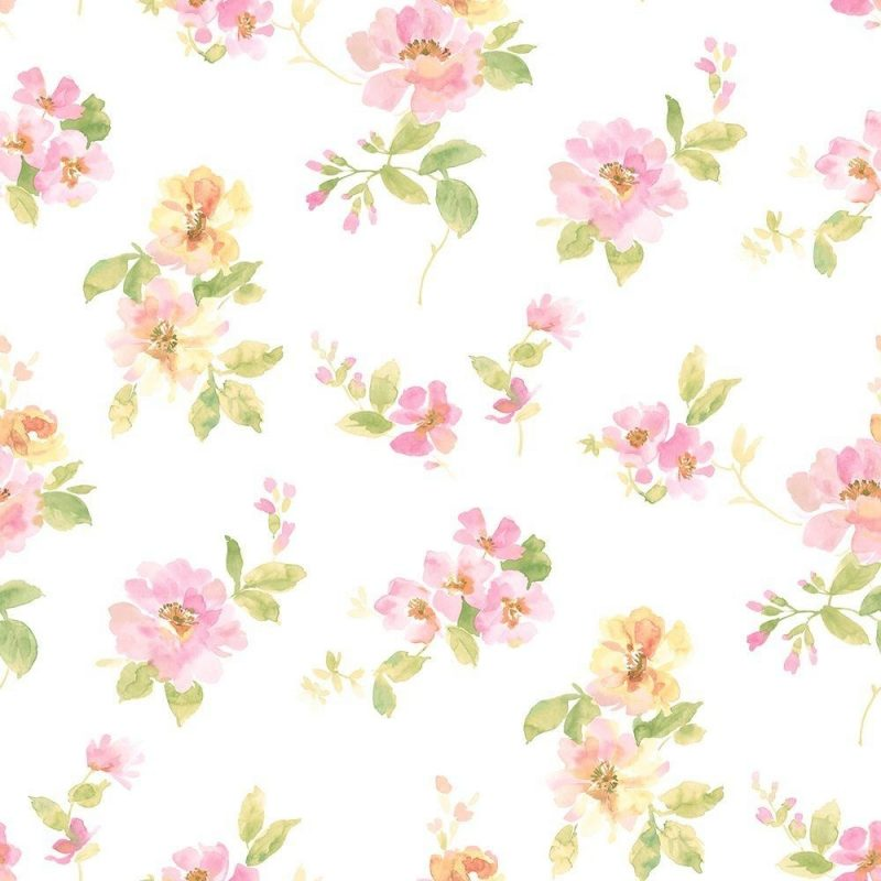 10 Top Pink Floral Wall Paper FULL HD 1080p For PC Desktop 2021 free download chesapeake captiva pink watercolor floral wallpaper dlr54594 the 800x800
